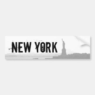 New York City Harbor - Statue of Liberty Bumper Sticker