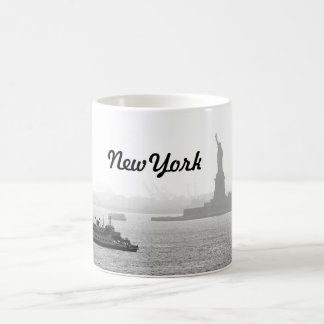 New York City Harbor - Statue of Liberty Coffee Mug