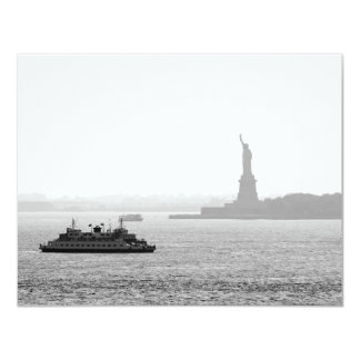 New York City Harbor - Statue of Liberty Personalized Invites