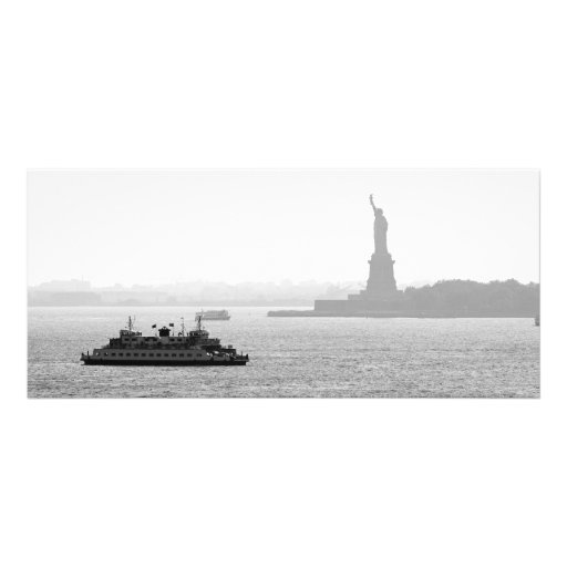 New York City Harbor - Statue of Liberty Personalized Rack Card