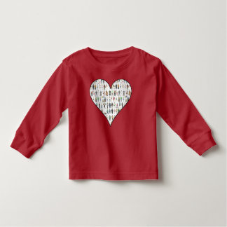 New York City Heart NYC People Toddler Tee