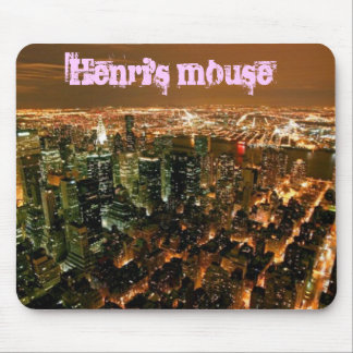 new-york-city Henri s mouse Mouse Mat