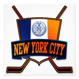 New York City Hockey Flag Invites