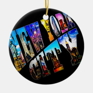 New York City Holiday Ornament