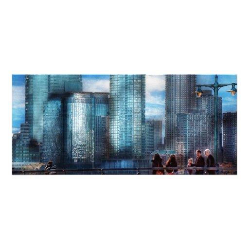 New York - City - Hudson River Park - Downtown Rack Card