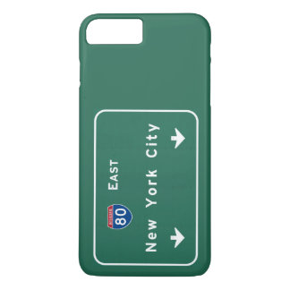 New York City Interstate Highway Freeway Road Sign iPhone 7 Plus Case