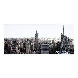 "New York City Invitation 4"" X 9.25"" Invitation Card"