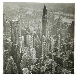 New York City Large Square Tile