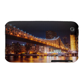 New York City Lights - Night Cityscape iPhone 3 Cover