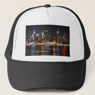 New York City Lights Trucker Hat