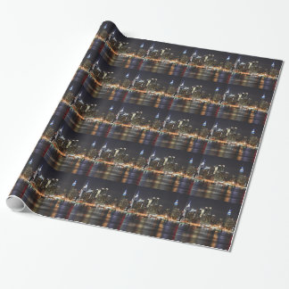 New York City Lights Wrapping Paper