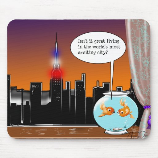 New York City Living Mouse Pad