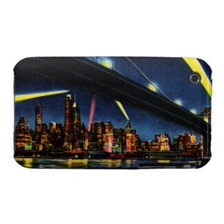 New York City Manhattan at Night iPhone 3 Cases