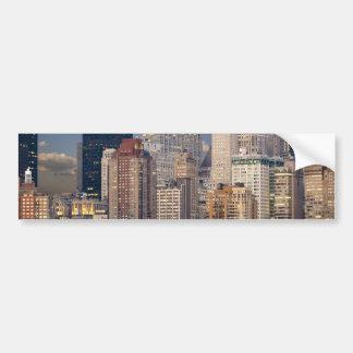 New York City Manhattan Bumper Sticker