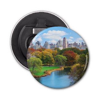 New York City Manhattan Central Park Panorama Bottle Opener