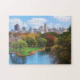 New York City Manhattan Central Park Panorama Jigsaw Puzzle