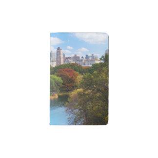 New York City Manhattan Central Park Panorama Pocket Moleskine Notebook