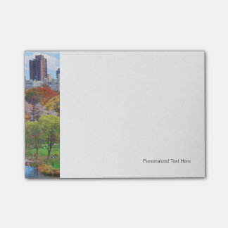 New York City Manhattan Central Park Panorama Post-it Notes