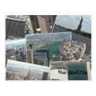 New York City Manhattan Multiview Postcard