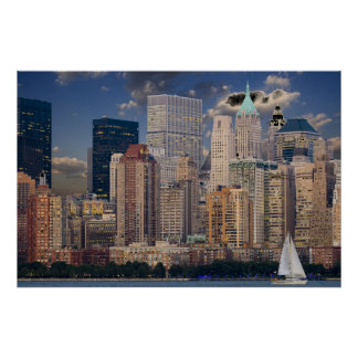 New York City Manhattan Poster