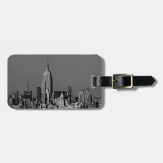 New York City Manhattan Skyline Luggage Tag