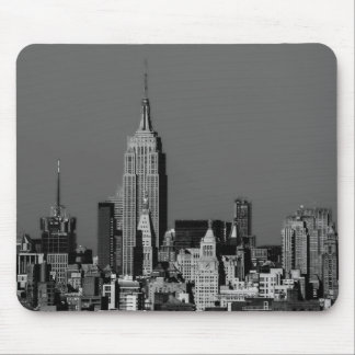 New York City Manhattan Skyline Mouse Mat