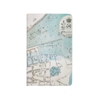 New York City Map, 1728 Journal