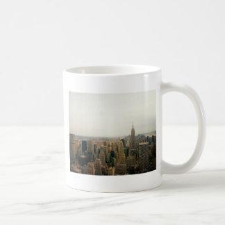 New York City Midtown Cityscape Classic White Coffee Mug
