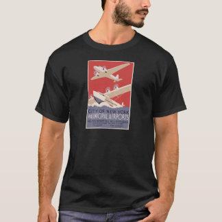 New York City Municipal Airports T-Shirt