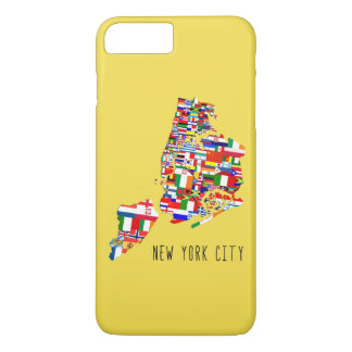 New York City Neighborhood Flags Phone Case
