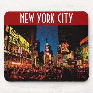 New York City (Neon) Mousepad