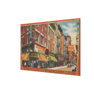 New York City, New York Stretched Canvas Prints