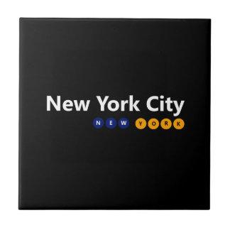 New York City, New York Ceramic Tile