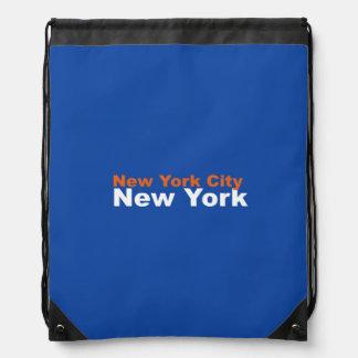 New York City, New York Drawstring Backpack