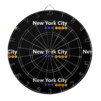 New York City, New York Metal Cage Dartboard