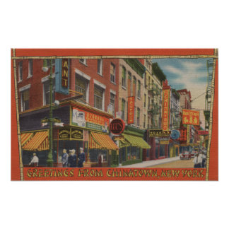 New York City, New York Poster
