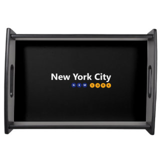 New York City, New York Serving Tray