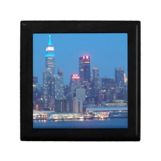new york city night gift box