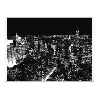 New York City Night Invitation