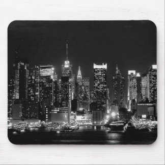 New York City Night Mouse Mat