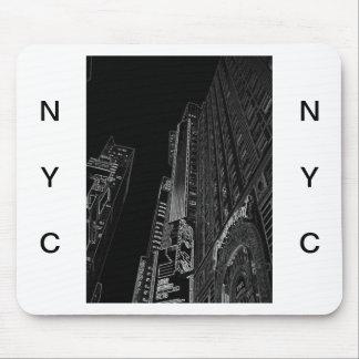 New York City Nights WalkAbout Photo Art Mousepads