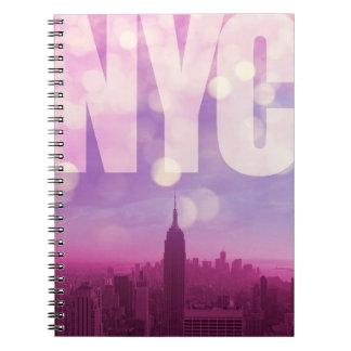 New York City Notebook Purple