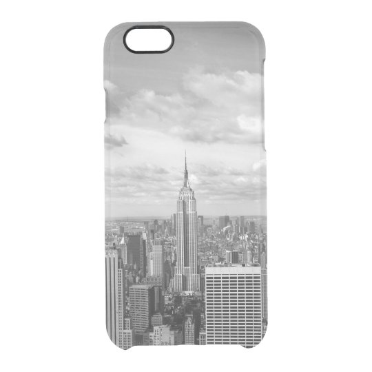 New York City NY NYC skyline wanderlust travel Clear iPhone 6/6S Case
