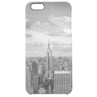 New York City NY NYC skyline wanderlust travel Clear iPhone 6 Plus Case