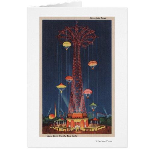 New York City, NY - Parachute Jump at World's Cards