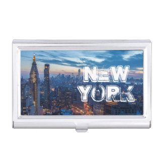 New York City, NY, USA Business Card Holder