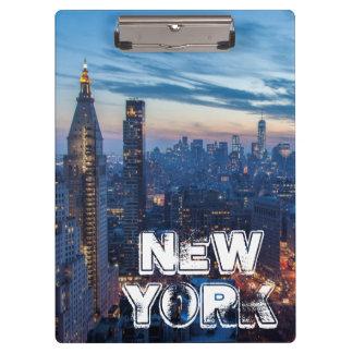New York City, NY, USA Clipboard