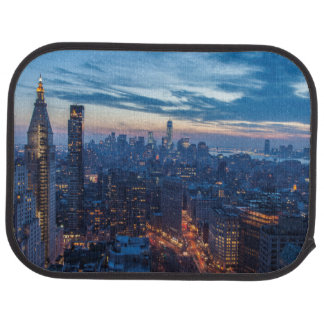 New York City, NY, USA Floor Mat