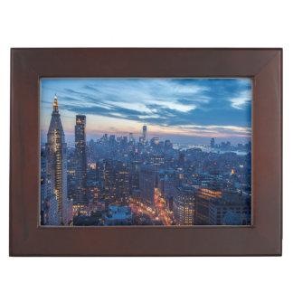New York City, NY, USA Keepsake Box