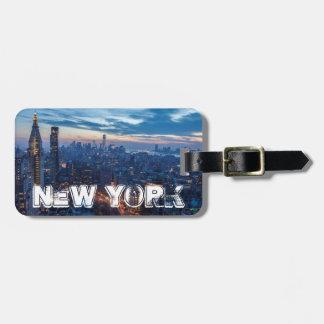 New York City, NY, USA Luggage Tag